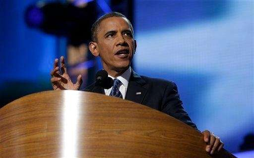 "<a href=""/topics//Barack_Obama"">President Barack Obama</a> addresses the <a href=""/topics//Democratic_National_Convention"">Democratic"