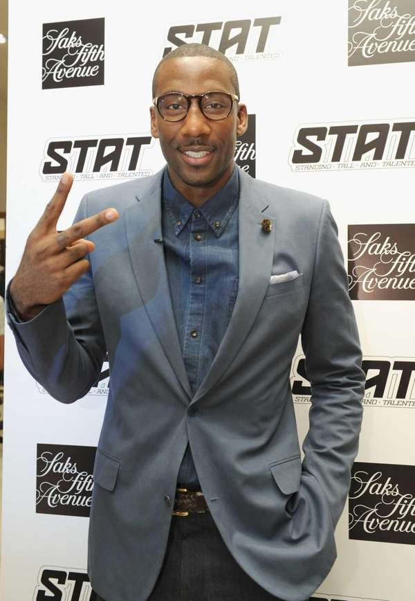 Knicks power forward Amare Stoudemire attends Fashion's Night