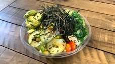 The vegetarian bowl at the newly opened Power