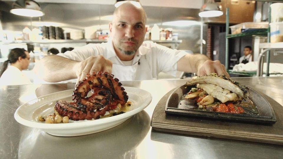 Michael Psilakis dishes up Greek food at MP