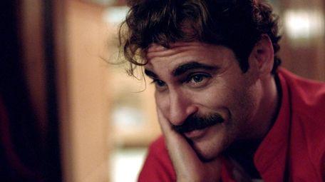 Joaquin Phoenix as Theodore in Warner Bros. Pictures'