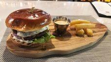 The picanha burger Fogo de Chao, a new