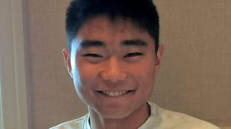 Miles Kim, a senior at Half Hollow Hills