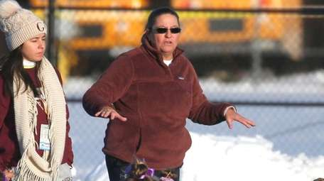 Garden City coach Diane Chapman is the Newsday