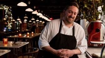 Chef Andrew Minitelli, who began working for Osteria
