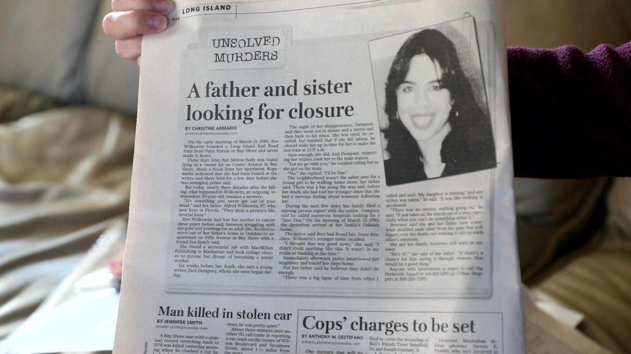 Eve Wilkowitz was murdered in 1980 when her