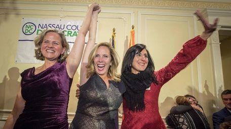 Democratic Nassau County executive candidate Laura Curran, Hempstead
