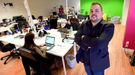 Scott Darrohn, a managing partner at fishbat, a