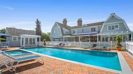 The house comes with an expansive veranda, pool