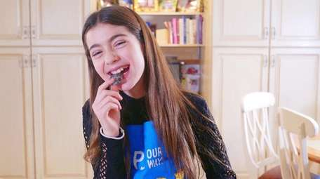 Rylee Gluck, 11, of Woodmere, is the inaugural