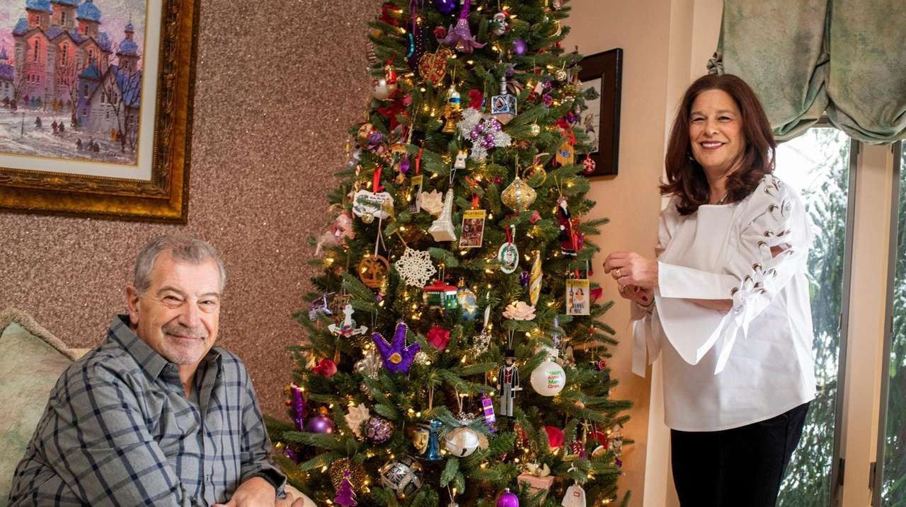 Charlie and Donna Buthmann of East Meadow are