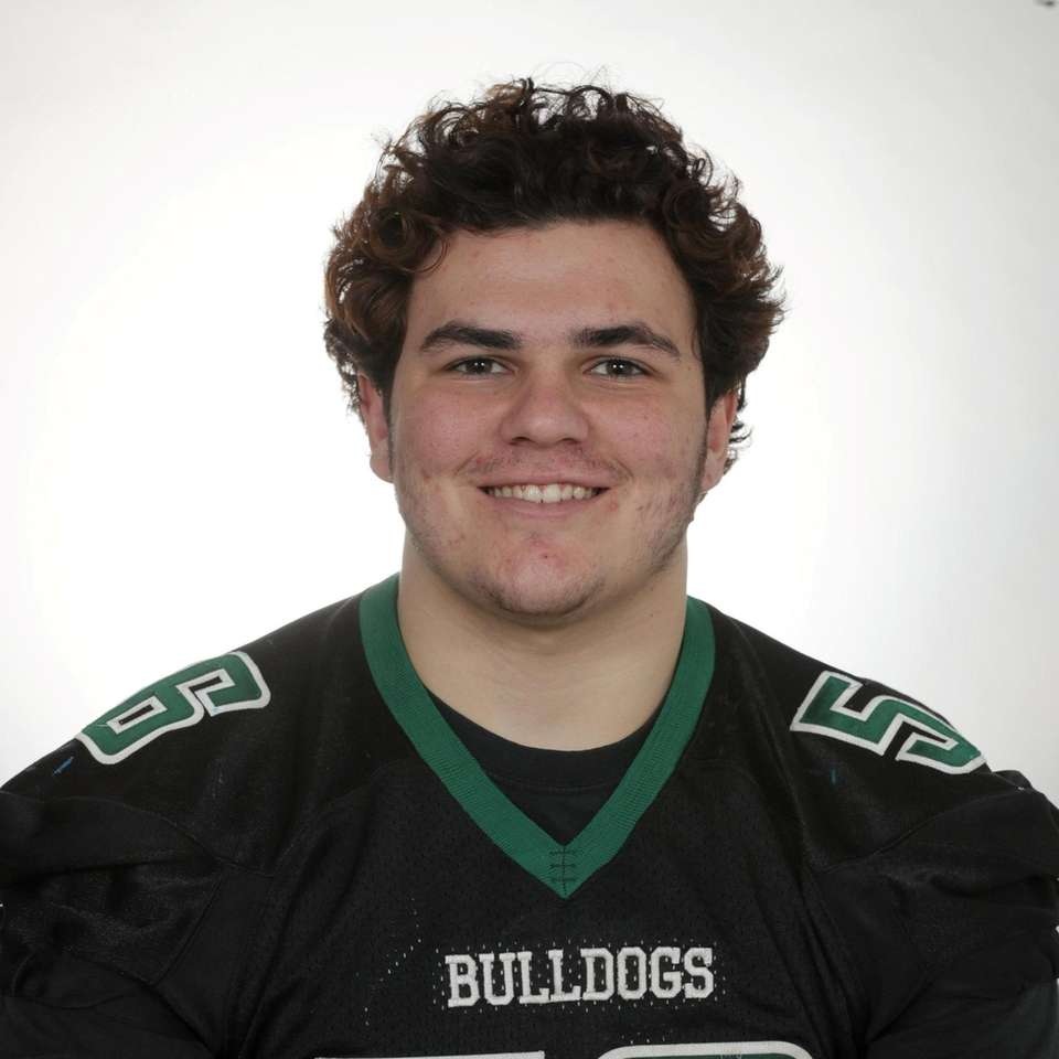 Will Ruckert of Lindenhurst poses for a portrait