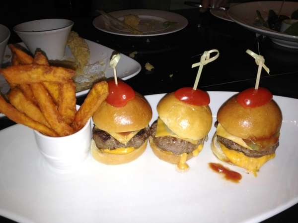 Sliders at Nisen in Woodbury. (Aug. 2012)