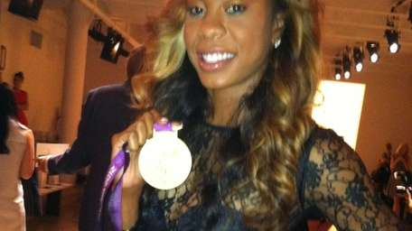 Olympic track and field star Sanya Richards Ross