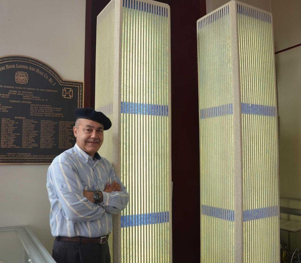Allen Sedaka, 56, of Great Neck, constructed an