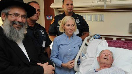 Jerome Nadler, 76, at Stony Brook University Hospital,