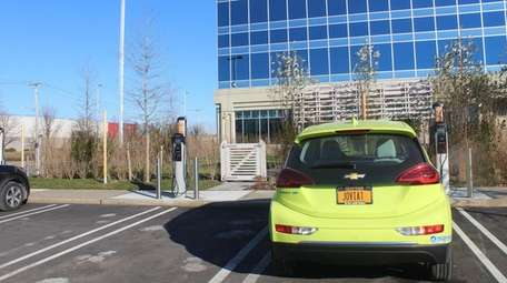 Jovia Financial Credit Union has installed car charging