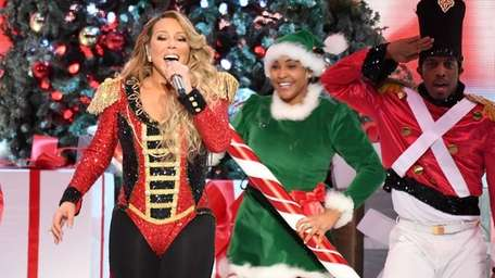 """Mariah Carey performs onstage during her """"All I"""