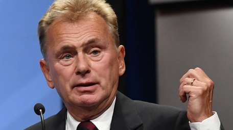"""Wheel of Fortune"" host Pat Sajak is inducted"