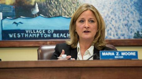 Westhampton Beach Mayor Maria Moore said the sewer
