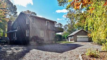 The home sits on a 1.1 acre lot,