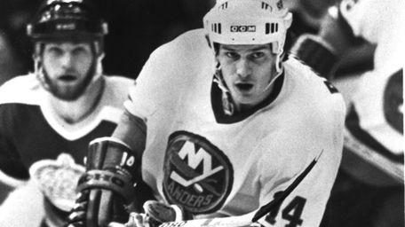 Islanders'  Bob Bourne.