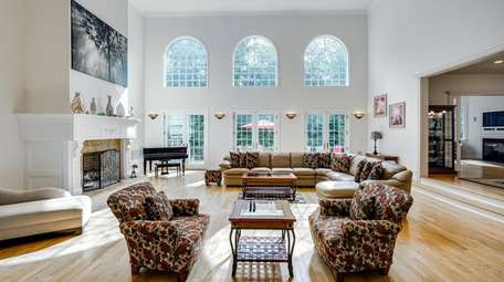 Inside the Colonial home in Amagansett