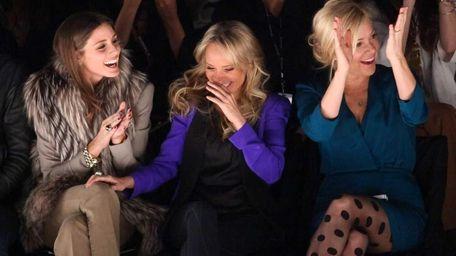 TV personality Olivia Palermo, actress Kristin Chenoweth and