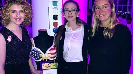 Locust Valley High School's Fashion Club members display