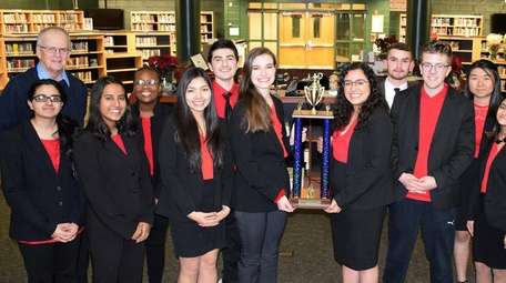 A team from William Floyd High School in