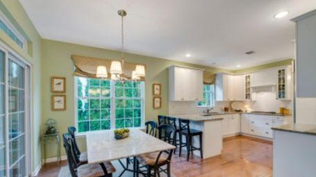 The 3 bedroom, 2½-bath home has high ceilings,