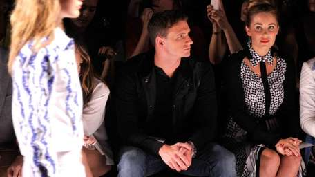 Olympian Ryan Lochte and designer Lauren Conrad attend