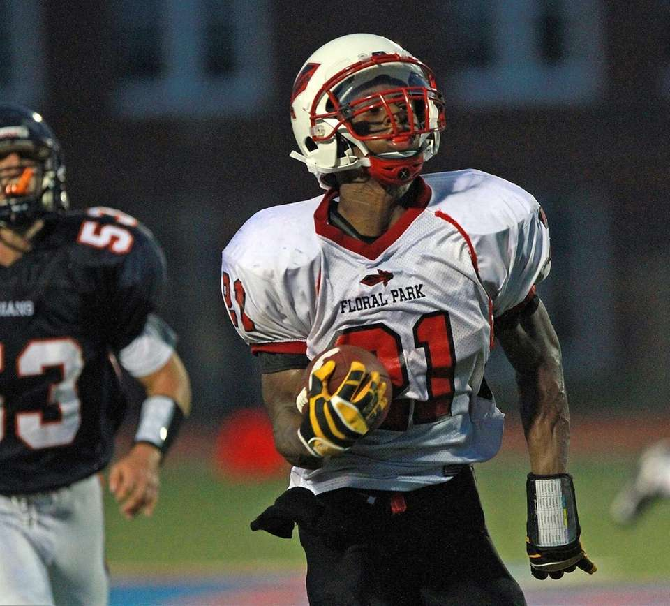 Floral Park's Ronnell Jones is on his way