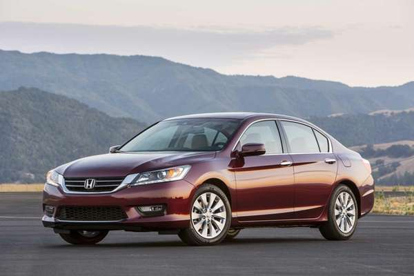 2013 Honda Accord EX-L V-6 Sedan.