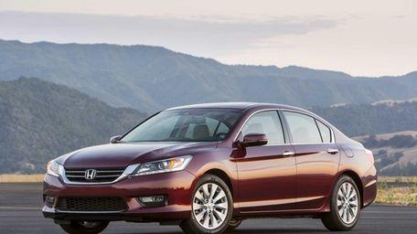 2013 Honda Accord EX-L V-6 Sedan.