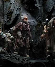 "A scene from ""The Hobbit: An Unexpected Journey,"""