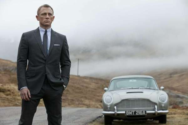 Daniel Craig is back as Bond in quot;Skyfall.quot;