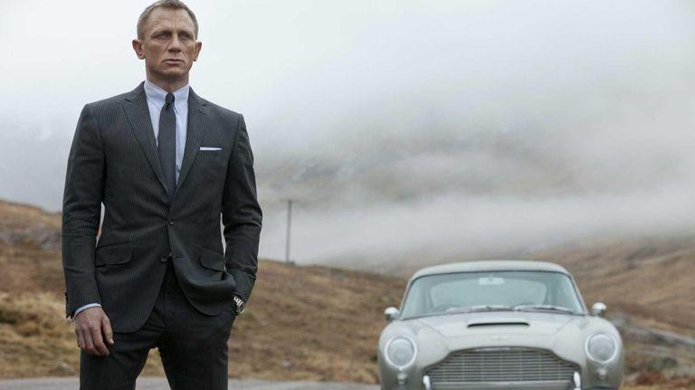 Daniel Craig is back as Bond in