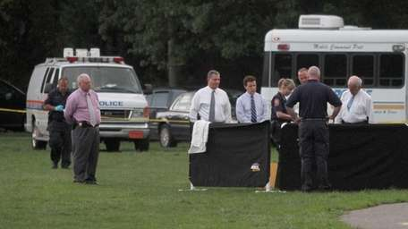 Police are investigating a man's body that was