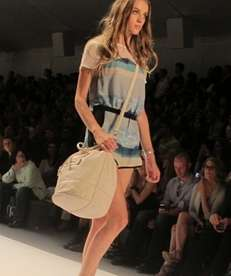 A look from Charlotte Ronson's spring 2013 line