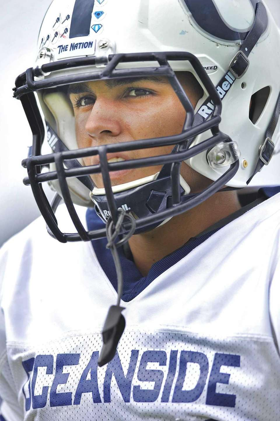 Justin Buckley of Oceanside H.S. during a game