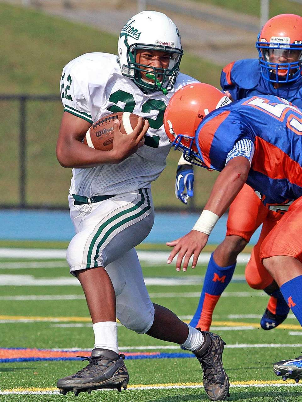 Locust Valley's Yamique Webb looks to cut back