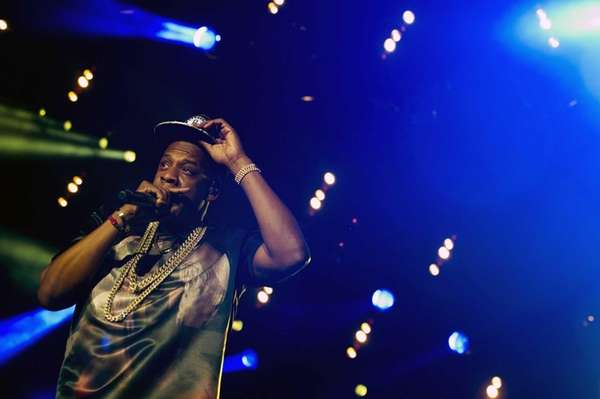 "Jay-Z performs at the ""Made In America"" music"