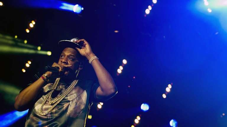 Jay-Z performs at the