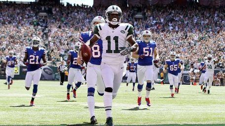 Jeremy Kerley #11 of the New York Jets