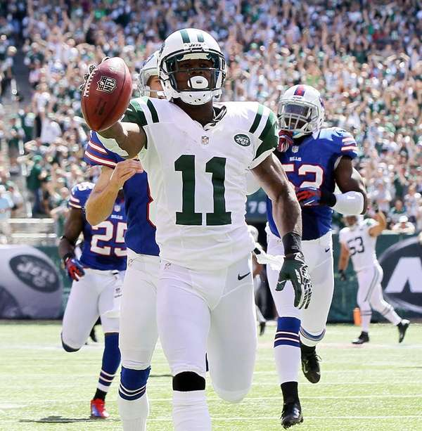 Jeremy Kerley #11 of the New York Jets