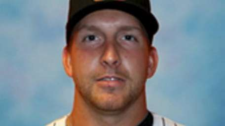 Long Island Ducks #26 Bobby Blevins, P