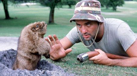 "Bill Murray as Carl Spackler in ""Caddyshack."""