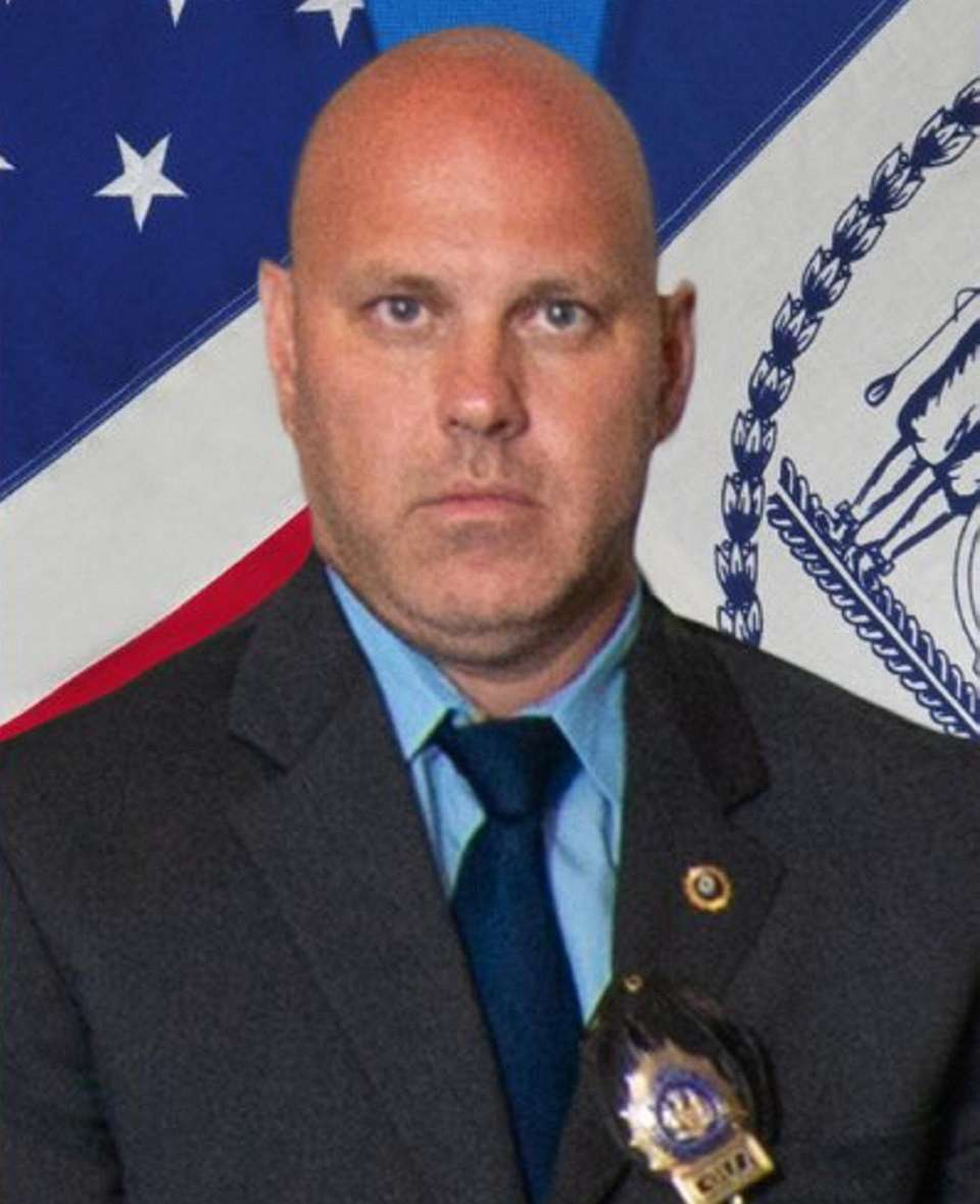 New York City detective Brian Simonsen was killed
