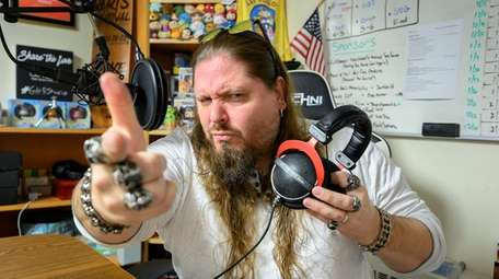 "Former wrestler Will ""Brimstone"" Kucmierowski at The Grindhouse"